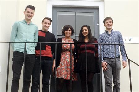 oe Boaden, Martyn Scoates, Sarah Hosny, Reena Langotra and Antoine Soulard