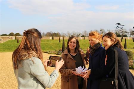 Tudor-themed teambuilding activity at Hampton Court Palace