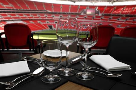Wembley Stadium is amoung the venues