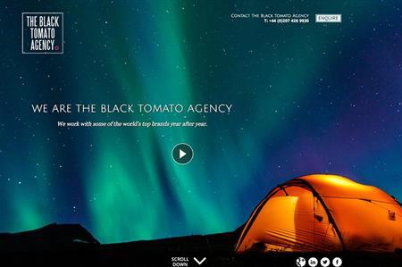 Black Tomato website