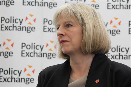Theresa May could steady the events industry, says MIA (© policy exchange)