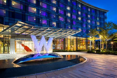 W Singapore – Sentosa Cove hotel