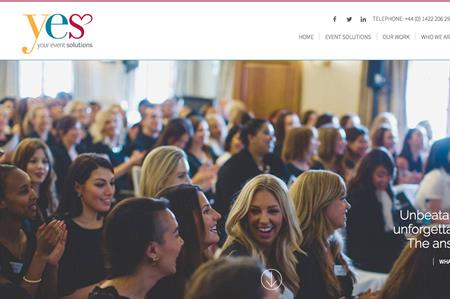 Your Event Solutions' homepage