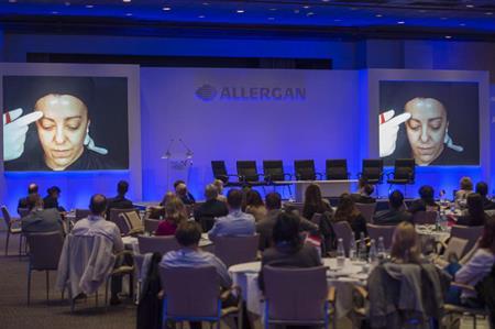 Allergan appoints SSG Create
