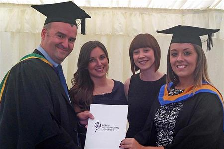 Ashfield awards bursary to Leeds Met's event 'Student of the Year'