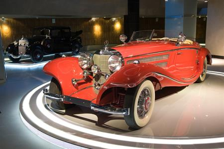 Autoville: retro car museum