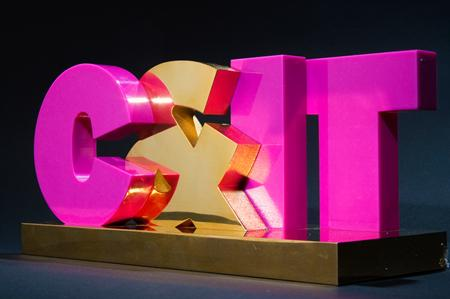 C&IT Excellence Awards trophy