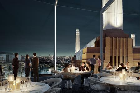 Art'otel London Battersea Power Station will open in 2019