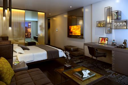 One of the suites at the Park Plaza Waterloo