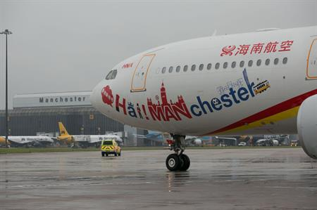 Hainan Airlines launches Manchester to Beijing flight
