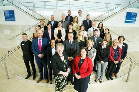 Belfast Waterfront team