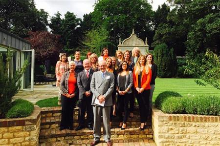 C&IT with BI Worldwide at Le Manoir aux Quat'Saisons