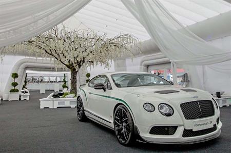 Bentley and Lamborghini's 10-year anniversary at the NEC Birmingham