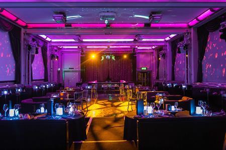 The Main Room at The Bloomsbury Ballroom