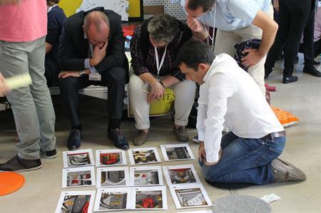 Bluehat teambuilding event in Paris