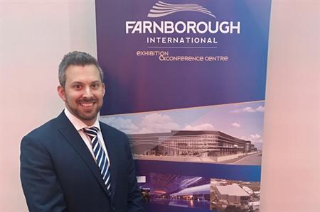 Carlo Zoccali joins Farnborough International
