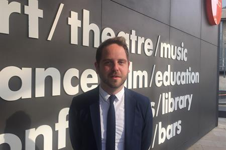Charlie Smith joins the Barbican