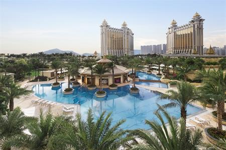 Ritz-Carlton and JW Marriott hotels at Galaxy Macau resort