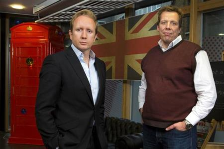 Logistik MD Dirk Mischendahl (right) departs as Jame Wilkins takes helm at the events agency