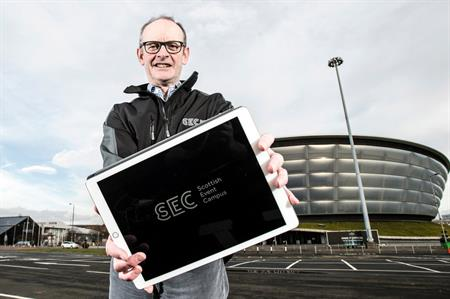 Peter Duthie, chief executive of the SEC with new logo