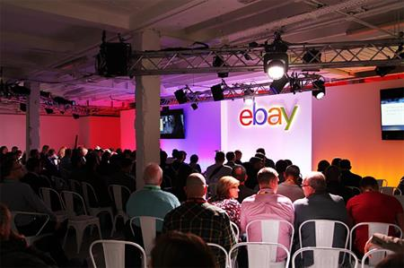 eBay professional seller event at B1, London
