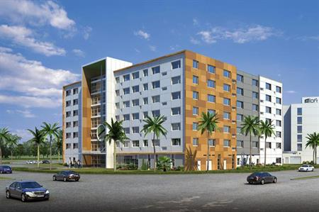 Starwood Hotels & Resorts has opened the eco-wise Element Miami Dora