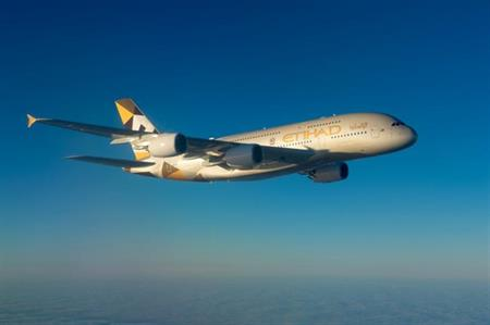 Etihad Airways has introduced an Airbus A380 on the Abu-Dhabi-Sydney part of its London-Sydney route