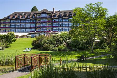 Lake Geneva's Evian Resort opens new conference centre