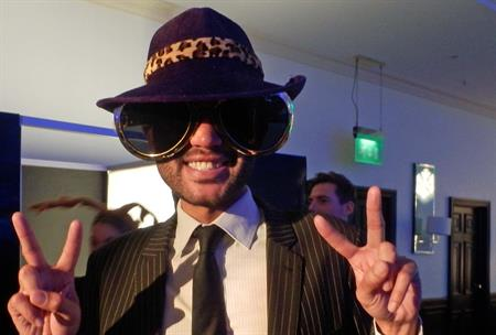 Guests enjoyed the photo booth at The Tower Hotel's events showcase