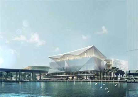 Work begins on ICC Sydney