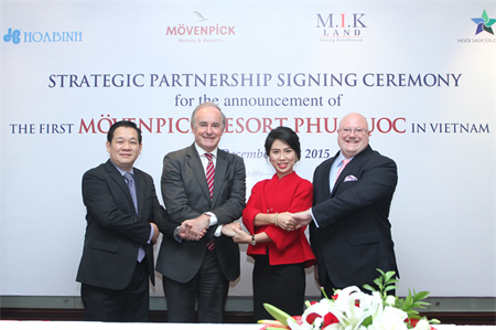 Movenpick will open the resort in 2017