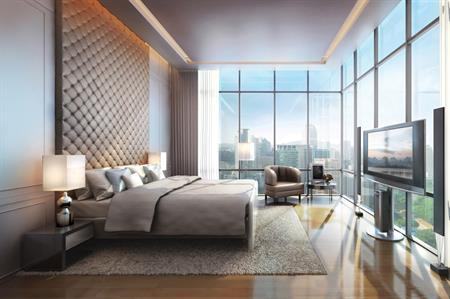 Bedroom at Four Seasons