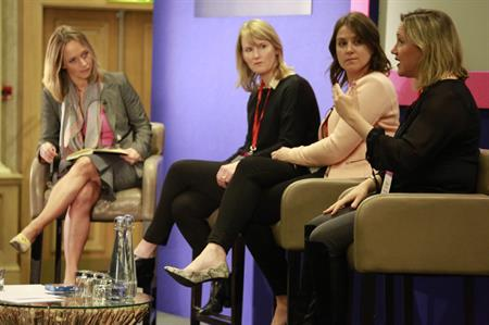 Panel with event planners from Clarks, Barclays and L'Oreal at Corporate Forum