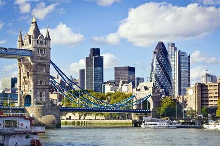 London has the most expensive room rates in Europe