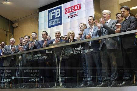 IFB 2016 launch at London Stock Exchange