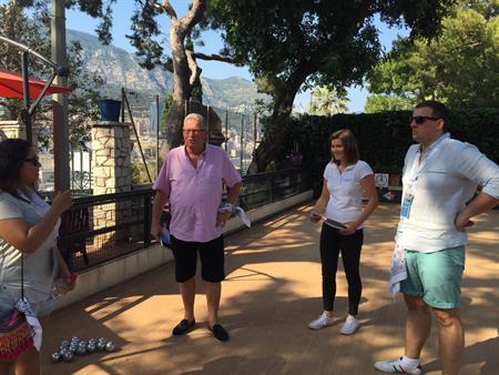 Delegates get active in Monte Carlo