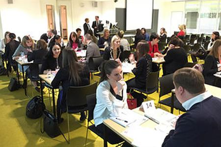 Students enjoyed one-to-one meetings at MPI Connects, The University of Westminster