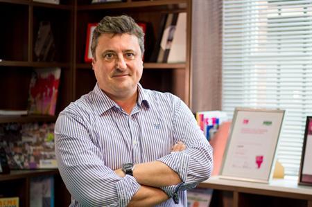 Nick Simpson, Vista's new event director