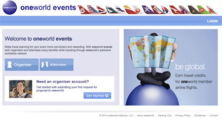 oneworld events offers new discounts and improvements for event planners