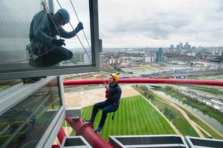 C&IT TV: ArcelorMittal Orbit launches abseil experience