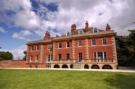 Hirst Priory in Lincolnshire has opened as a venue for corporate events