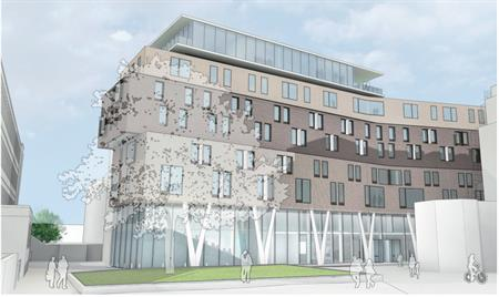 Work gets underway on £25m Graduate Centre at Queen Mary University of London