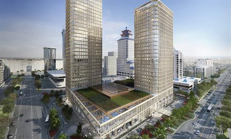 Ritz-Carlton, Astana will open in the mixed use Talan Towers project in 2017