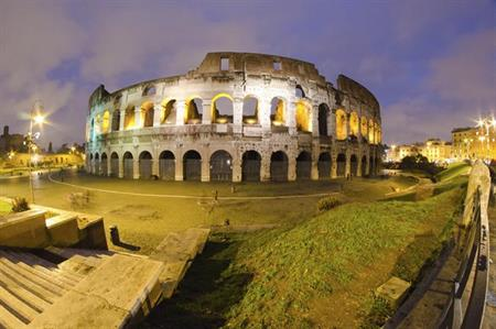 The Collosseum, Rome, Italy