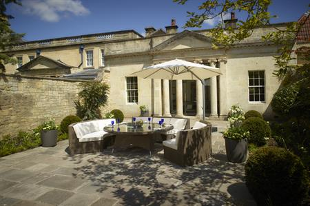 The Royal Crescent Hotel & Spa's The Walled Garden