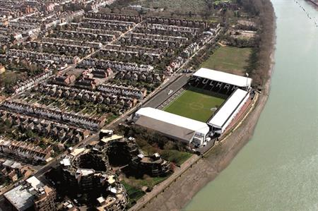 Fulham FC's Craven Cottage stadium