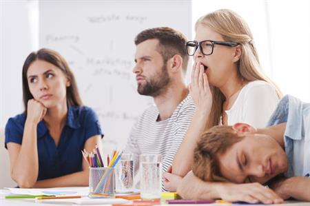 One in three delegates admits to falling sleepy after lunch (©iStockphoto.com)