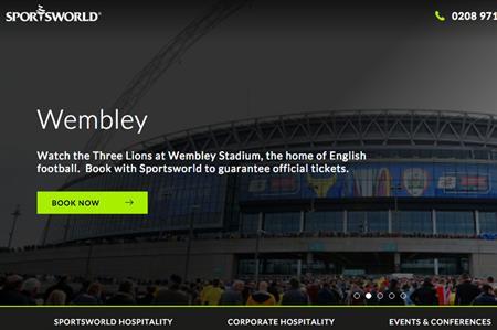 Sportsworld website