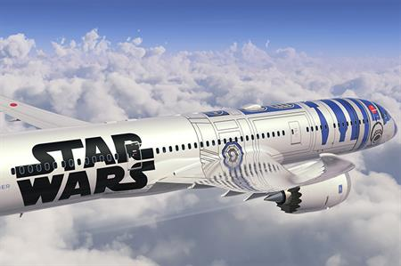 Nippon Airways is to launch a Star Wars plane