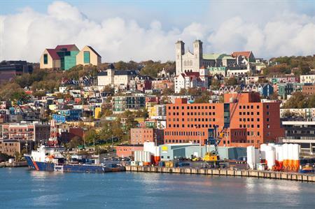 St John's Harbour, Newfoundland (Credit: iStock)